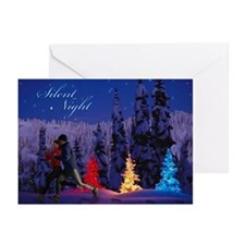 Silent Night - Christmas Scene (Male & Female Runn