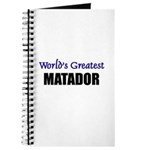 Worlds Greatest MATADOR Journal