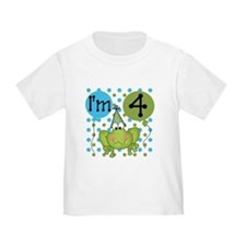 Frog 4th Birthday T