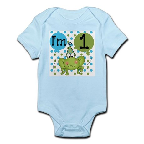 Frog 1st Birthday Infant Bodysuit