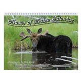 Moose of Maine Wall Calendar