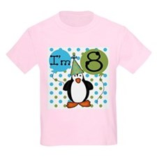 Penguin 8th Birthday T-Shirt