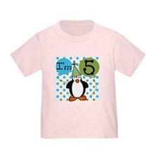 Penguin 5th Birthday T