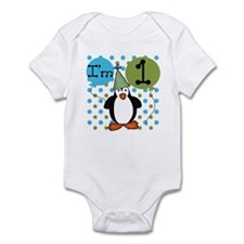 Penguin 1st Birthday Infant Bodysuit