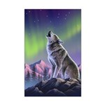 Howling Wolf 2 Mini Poster Print