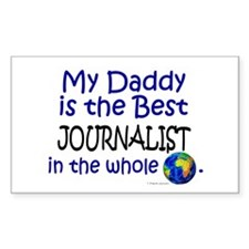 Best Journalist In The World (Daddy) Decal
