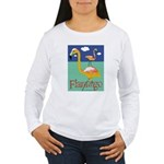 Flamingo Women's Long Sleeve T-Shirt
