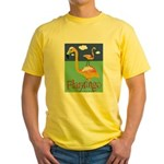 Flamingo Yellow T-Shirt