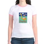 Flamingo Jr. Ringer T-Shirt