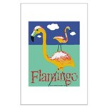 Flamingo Large Poster