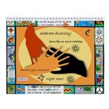 Diversity Hands 2 Wall Calendar
