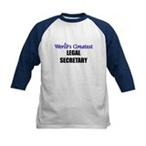 Worlds Greatest LEGAL SECRETARY Tee