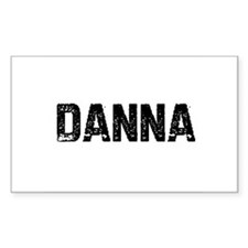 Danna Rectangle Decal