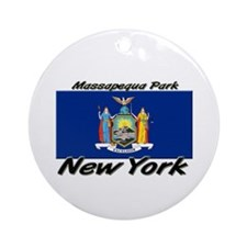 Massapequa Park New York Ornament (Round)