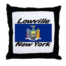 Lowville New York Throw Pillow