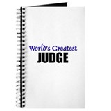 Worlds Greatest JUDGE Journal