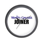 Worlds Greatest JOINER Wall Clock