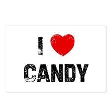 I * Candy Postcards (Package of 8)