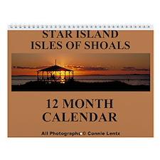 Star Island Wall Calendar 12 Photographs - 9x11