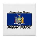 Hampton Bays New York Tile Coaster
