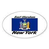 East Shoreham New York Oval Decal