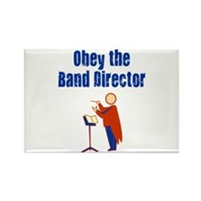 Obey the Band Director Rectangle Magnet (10 pack)
