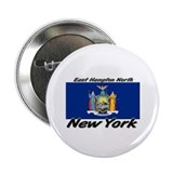 East Hampton North New York Button