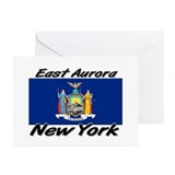 East Aurora New York Greeting Cards (Pk of 10)