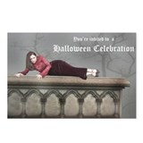 Leila Halloween Invite Postcards (Package of 8)