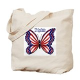 Cute Butterfly Tote Bag