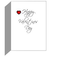 I LOVE DADDY VALENTINES DAY Greeting Card
