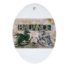 Balance Oval Ornament