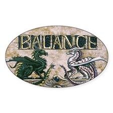 Balance Oval Decal
