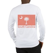South Carolina Flag Long Sleeve T-Shirt