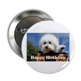 "Bichon Frise 2.25"" Button (10 pack)"