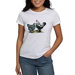 Dark Brahma Chickens Women's T-Shirt