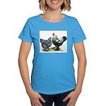 Dark Brahma Chickens Women's Dark T-Shirt