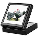 Dark Brahma Chickens Keepsake Box