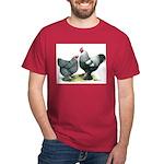 Dark Brahma Chickens Dark T-Shirt