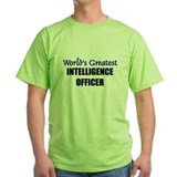 Worlds Greatest INTELLIGENCE OFFICER T-Shirt