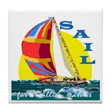 SAIL Tile Coaster