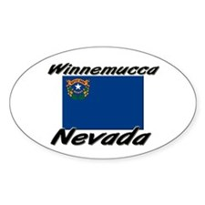 Winnemucca Nevada Oval Decal