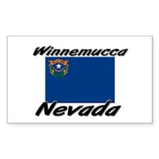 Winnemucca Nevada Rectangle Decal