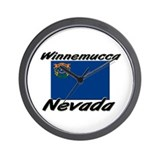 Winnemucca Nevada Wall Clock