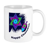 Happy Chanukah Mug