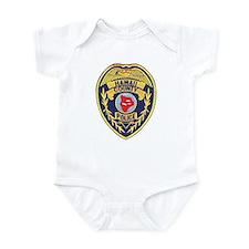 Hawaii County Police Infant Bodysuit