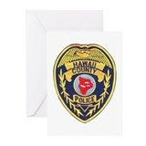 Hawaii County Police Greeting Cards (Pk of 20)