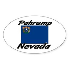 Pahrump Nevada Oval Decal