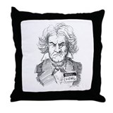 Hello, my name is Ludwig Throw Pillow