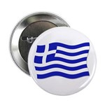 Waving Greek Flag Button